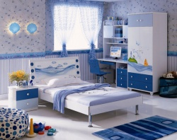 Идеи для детской комнаты для будущего мореплавателя.