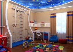 <p><em><strong>Ремонт и отделка.&nbsp; Детская комната для двух мальчиков.&nbsp; Звездное небо.<br /></strong></em></p>