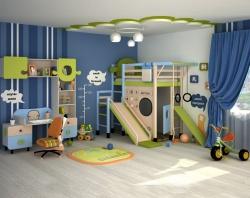 Ремонт маленькой детской комнаты для мальчика.