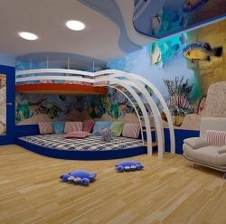 <p><em><strong>Детская комнатами для мальчика. Ремонт и отделка.</strong></em></p>