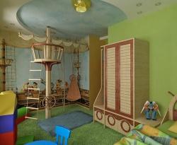 <p><em><strong>Ремонт детской комнаты для мальчика.</strong></em></p>