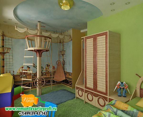 Ремонт детской комнаты для мальчиков своими руками фото