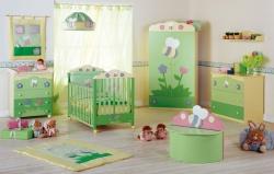 Детская комната для мальчика новорожденного. Ремонт и отделка.