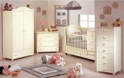 Дизайн комнаты для новорожденных. Ремонт и отделка.