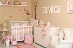 <p><em><strong>Дизайн комнаты для новорожденных.&nbsp; Ремонт комнаты в розовых тонах.&nbsp;</strong></em></p>