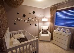 <p><em><strong>Ремонт и отделка детской. Комната для новорожденного. В шоколадный тонах.<br /></strong></em></p>