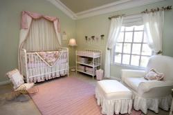 Ремонт и отделка детской комнаты. Комната новорожденного.