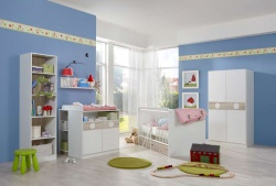 <p><em><strong>Детская комната для новорожденного мальчика. Ремонт и отделка.</strong></em></p>