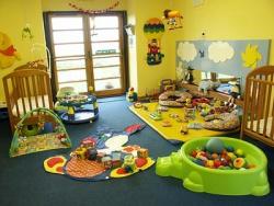 <p><em><strong>Комната для новорожденных близнецов. Игральная зона .</strong></em></p>