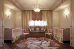 Комната для новорожденных близняшек. Ремонт и отделка.