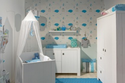 Комнаты для новорожденных мальчиков. Ремонт и отделка.
