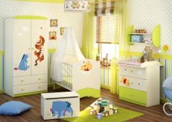 <p><em><strong>Kомната для новорожденной девочки.&nbsp; Дисней бейби сити - Disney baby-City.</strong></em></p>