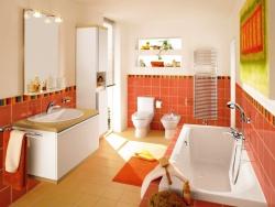 Ремонт и отделка ванной: дизайн большой ванной комнаты.