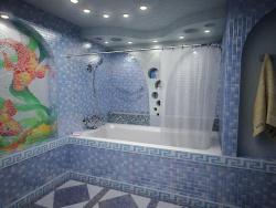 <p><em><strong>Ремонт и отделка ванной: дизайн ванной комнаты&nbsp; - плиточные работы.</strong></em></p>