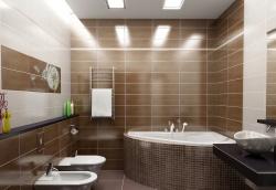 <p><em><strong>Ремонт и отделка ванной: дизайн совмещенной ванной и туалета.&nbsp; Современно.</strong></em></p>