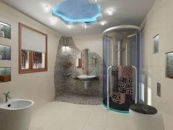 Ремонт и отделка ванной: дизайн современной ванной комнаты.