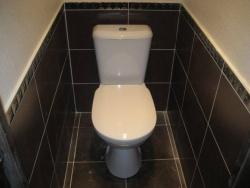 <p><em><strong>Ремонт и отделка туалета:&nbsp; дизайн туалета в строгом&nbsp; стиле.<br /></strong></em></p>