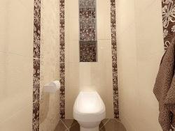 Ремонт и отделка туалета: цветы в дизайне туалета.