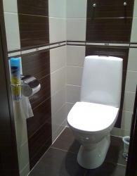 <p><em><strong>Ремонт и отделка туалета: wc дизайн санузла туалета . Шоколадный цвет.</strong></em></p>