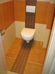 Ремонт и отделка туалета: wc дизайн туалета - тема Африка.