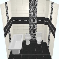 <p><em><strong>Кафельная плитка для ванной -&nbsp; Кураж.&nbsp; Ремонт и отделка.</strong></em></p>