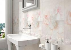 <p><em><strong>Плитка в ванную комнату нежно-розовый. Ремонт и отделка.</strong></em></p>