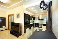 <p><em><strong>Дизайн кухни гостиной: секреты правильного зонирования.</strong></em></p>