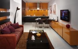 <p><em><strong>Дизайн кухни-гостиной - фото-идеи для вдохновения</strong></em>.</p>
