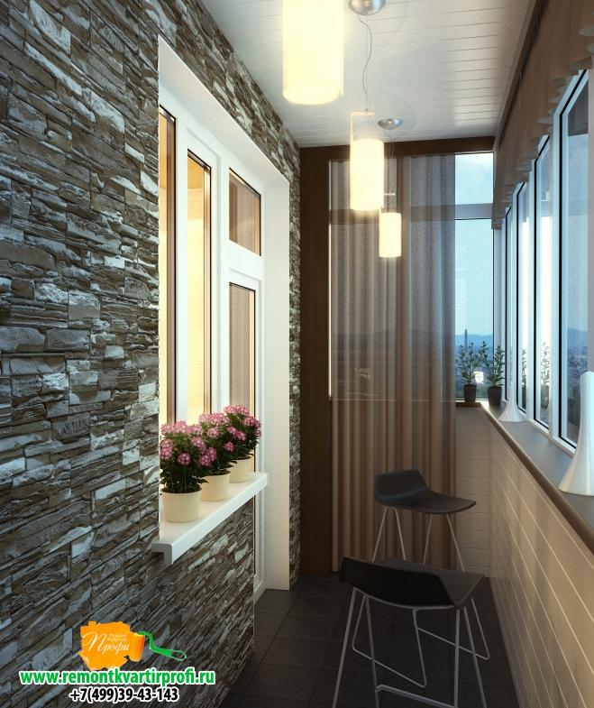 Дизайн и ремонт балкона