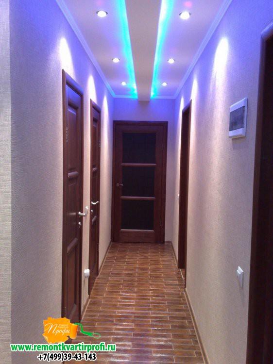 Идея потолков в коридоре фото