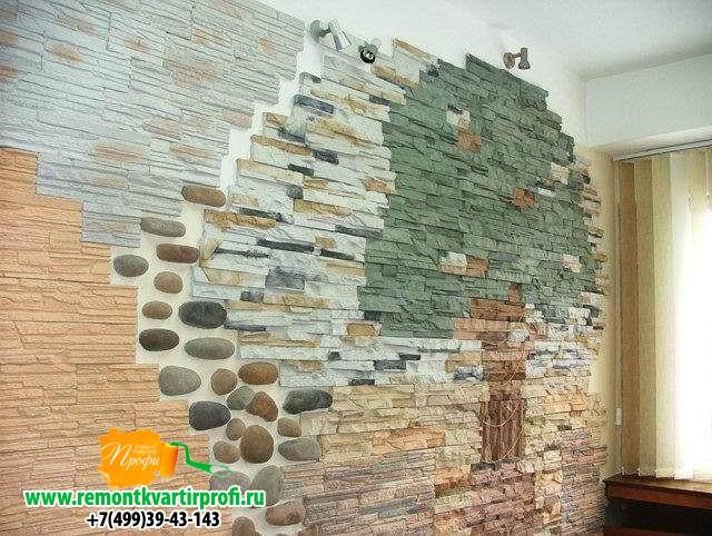 Камни дома на стенах своими руками
