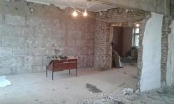 Демонтажные и черновые работы в Москве. Возведение и штукатурка стен. м. Динамо