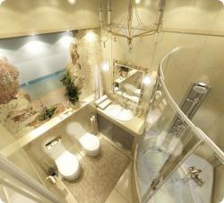 <p>Дизайн ванной совмещенной с туалетом фото</p>