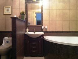 Интерьер ванны совмещенной с туалетом фото