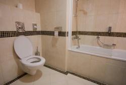 <p>Планировка ванной комнаты совмещенной с туалетом</p>