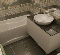 Ремонт ванны совмещенной с туалетом фото хрущевка
