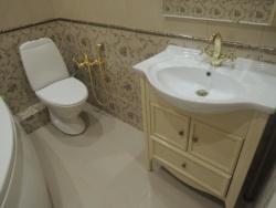 Ванная совмещенная с туалет 3 кв м