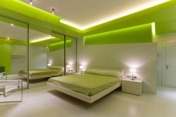 <p>Цвет отделки спальни</p>