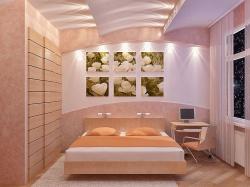 <p>Дизайн отделки спальни</p>