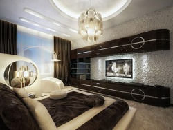 Отделка спальни фото дизайн