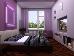 Отделка спальни в квартире фото