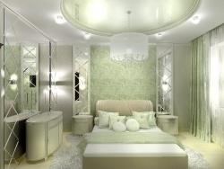 <p>Деревянная отделка спальни</p>