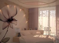 <p>Интерьер спальни в стиле</p>