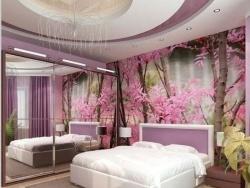 Ремонт спальни отделка