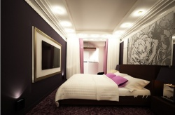 <p>Современный интерьер спальни</p>