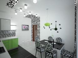 Ремонт и отделка кухни: эксклюзивный дизайн кухни.
