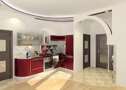 <p><em><strong>Ремонт и отделка: Дизайн совмещенной кухни с гостиной.</strong></em></p>