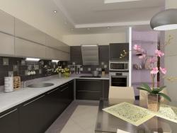 Ремонт и отделка: Современный дизайн кухни.