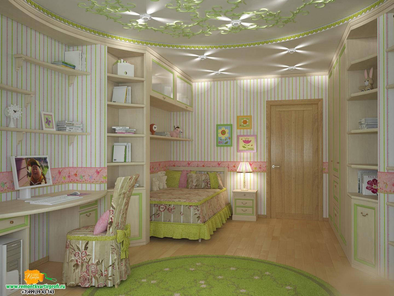 Как сделать ремонт своими руками в детской комнате