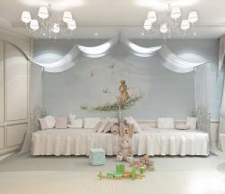 <p><em><strong>Дизайн детской комнаты для девочек.</strong></em></p>